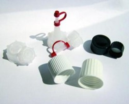 Slika za screw cap, black, melamine