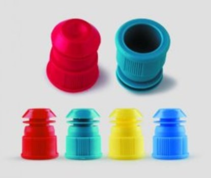 Slika za llg-test tube stoppers, red