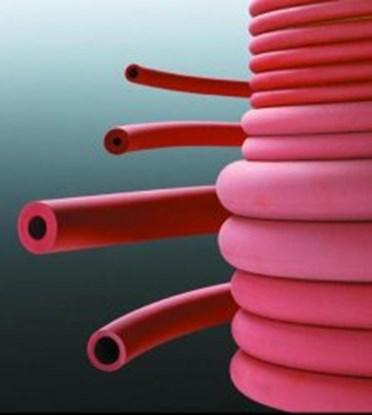 Slika za gumeno crevo 5x2mm crveno