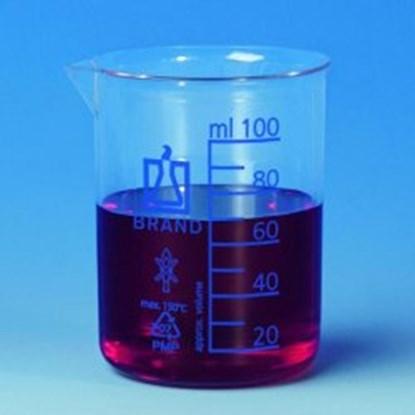 Slika za beakers,pmp,clear,low form,cap. 100 ml