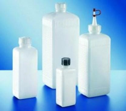 Slika za square bottles,pe-hd,without screw cap