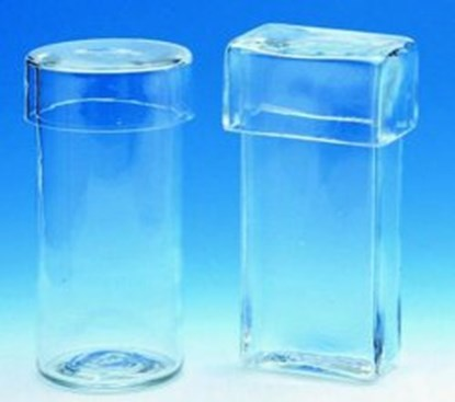Slika za staining cylinders,soda glass,with cover