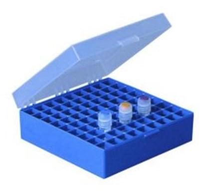 Slika za cryo box pp 9x9 blue 133 x 133 x 75 mm