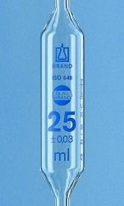 Slika za volumetric pipets,class as,cap. 25 ml