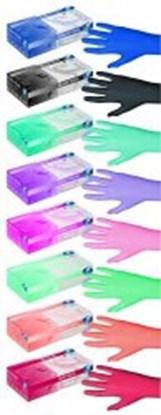 Slika za nitrile gloves pink pearl size s