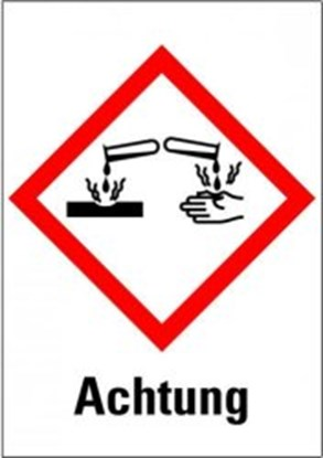 "Slika za hazardous material symbols ""warning:"