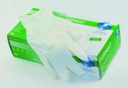 Slika za rukavice nitrilne bele m (7-8) 1/100