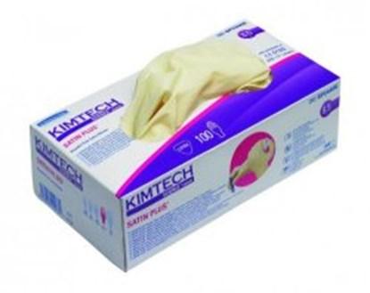 Slika za Disposable Gloves KIMTECH SCIENCE* SATIN PLUS, Latex, Powder-Free