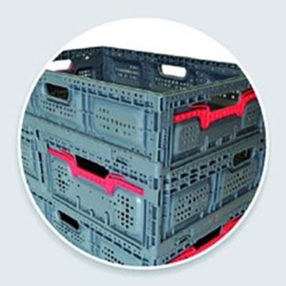 Slika za foldable box maxi, active lock 18, blue