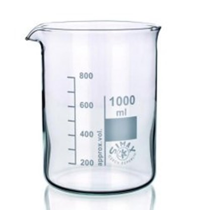 Slika za beakers 250 ml, low form, boro 3.3