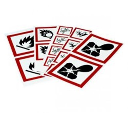 Slika za Hazard labels (GHS)