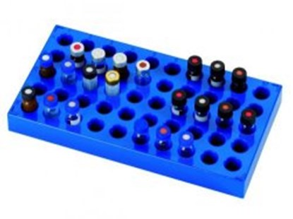 Slika za llg-rack for vials, pp, blue