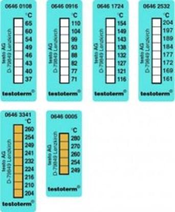 Slika za temperature recording strips, 51 x 18 mm