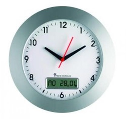 Slika za wireless wall clock with date