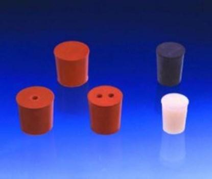 Slika za rubber stoppers red 79mmfi base diam