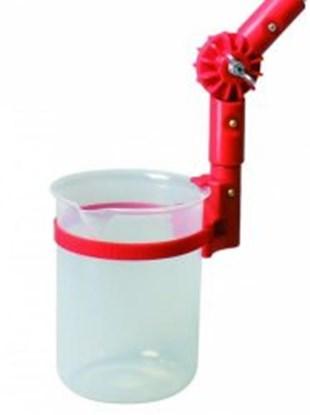 Slika za Angular, sample beakers, angled for TeleScoop, PP