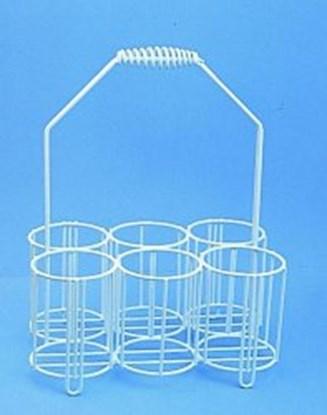 Slika za bottle carriers,pe-coated wire,for 10 x