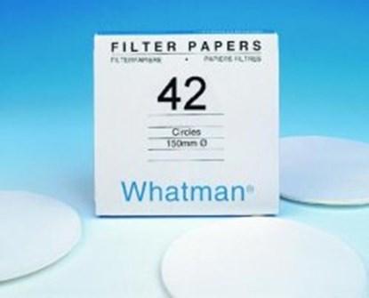 Slika za filter papir, plava traka 42, 150mm, kvant