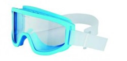 Slika za cleanroom glasses, blue frame