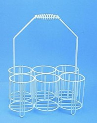 Slika za bottle carriers,pe-coated wire,for 10 x