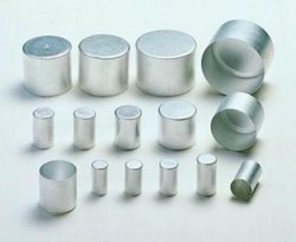 Slika za aluminijumski cepovi za epruv.13 x 25 mm