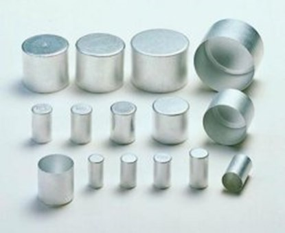 Slika za alu caps,aluminium,14 x 25 mm high,pack