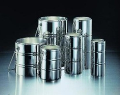 Slika za Chrome steel Dewar flasks
