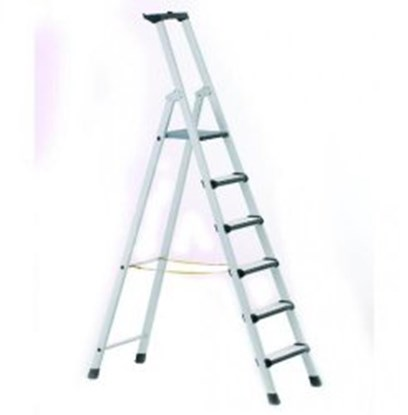 Slika za Stepladders with treads and padded front edges