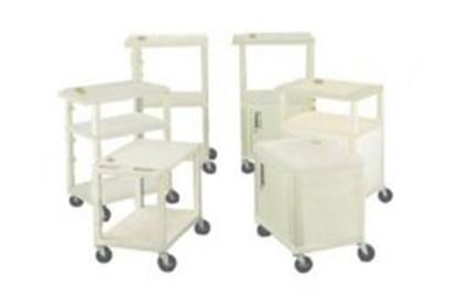 Slika za Laboratory Trolleys, PE-HD