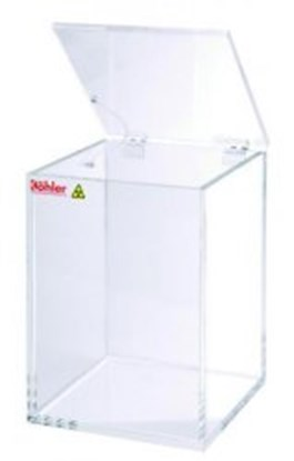 Slika za Beta-waste containers, clear acrylic