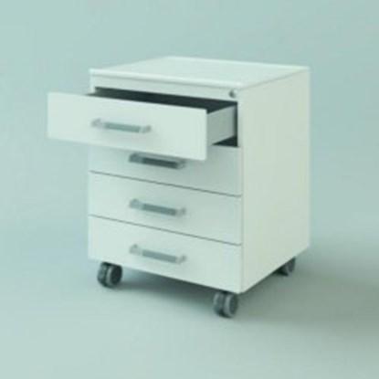 Slika za u/b mobile cabinet, 600x590x516, 3 drawe