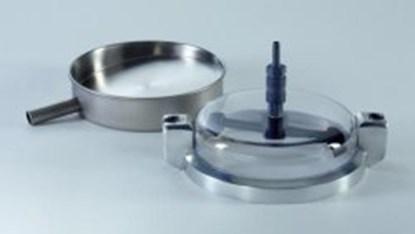 Slika za sieve head plexiglass with 2 rotating bl