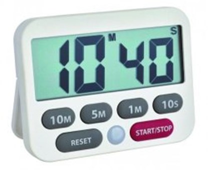Slika za digital timer and stopwatch, white