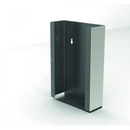 Slika za dispenser box, stainless steel, 1 compar